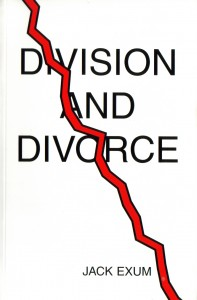 Division And Divorce by Jack Exum