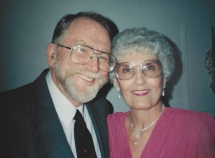 Jack and Ann Exum on 50th Anniversary