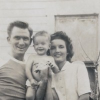 Jack and Ann Exum with Little Jack