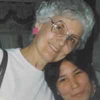 Mom With Michelle, my daughter