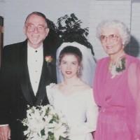 Jack Exum With Mom At Jodi's Wedding
