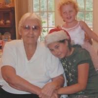 Mom With Kathrine and Alexandra