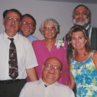 Jack Exum Family At 50th Anniversary