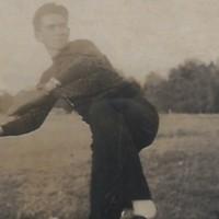 Jack Exum Throwing Baseball
