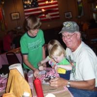 Jack Exum With Alex And Grand Children
