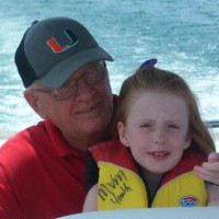 Jack Exum and Grand daughter Anna