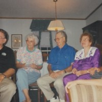 Jack Exum With Mom, Aunt Mickey And Merle