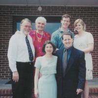 Jack Exum With Mom, Jack III, Andrea, Jodi and Charles